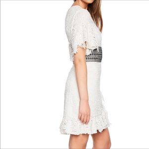 NWT Bardot white lace dress
